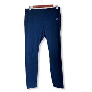 RBX Workout Pants Blue/Black Size Large